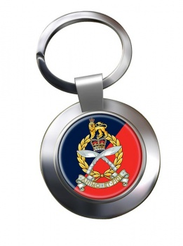 Gurkha Staff and Personnel Support Branch Chrome Key Ring