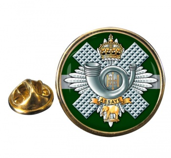 Highland Light Infantry Round Pin Badge