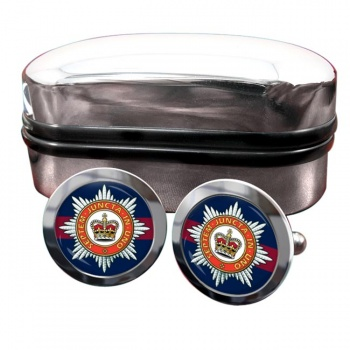 The Household Division Round Cufflinks