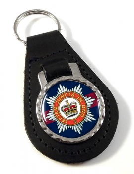The Household Division Leather Key Fob