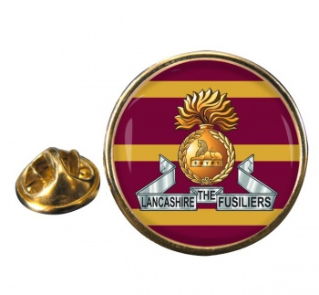 Lancashire Fusiliers Round Pin Badge