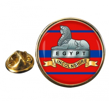 Lincolnshire Regiment Round Pin Badge
