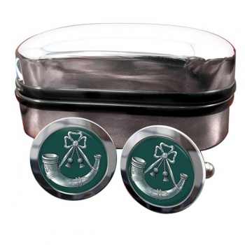 Light Infantry Round Cufflinks