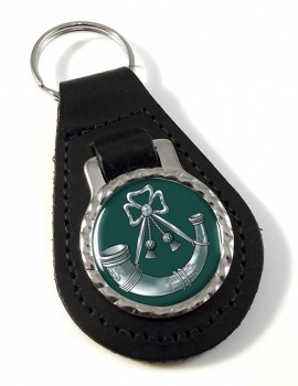 Light Infantry Leather Key Fob