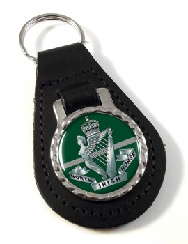 North Irish Horse Leather Key Fob