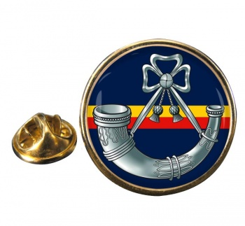 Oxfordshire and Buckinghamshire Light Infantry Round Pin Badge