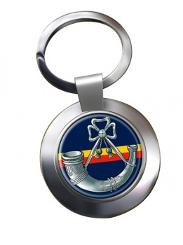 Oxfordshire and Buckinghamshire Light Infantry Chrome Key Ring
