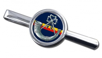 Oxfordshire and Buckinghamshire Light Infantry Round Tie Clip