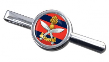 Queens Gurkha Engineers Round Tie Clip