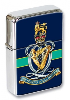 Queen's Royal Hussars Flip Top Lighter