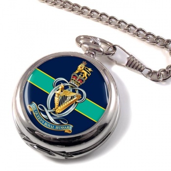 Queen's Royal Hussars Pocket Watch