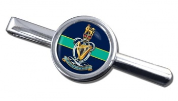 Queen's Royal Hussars Round Tie Clip