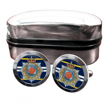 Royal Army Service Corps Round Cufflinks