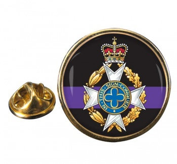 Royal Army Chaplains' Department (Christian) Round Pin Badge