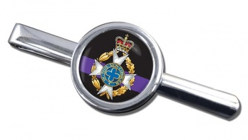 Royal Army Chaplains' Department (Christian) Round Tie Clip
