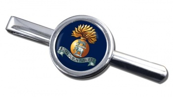 Royal Dublin Fusiliers Round Tie Clip