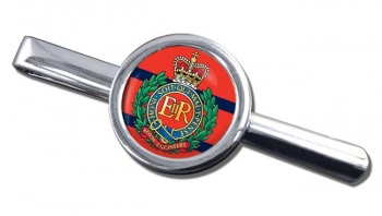 Royal Engineers Round Tie Clip