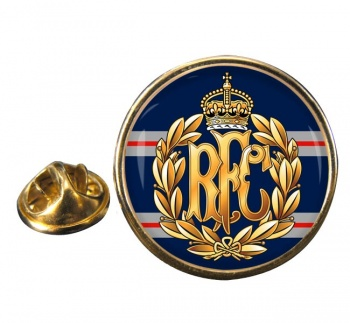 Royal Flying Corps Round Pin Badge