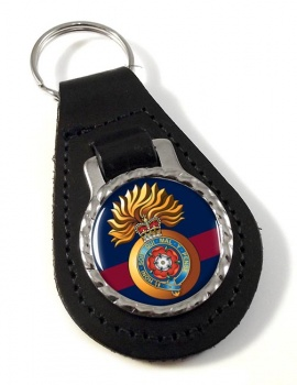 Royal Fusiliers (City of London Regiment) Leather Key Fob