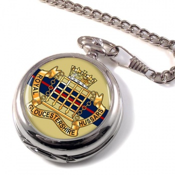 Royal Gloucestershire Hussars Pocket Watch