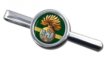 Royal Inniskilling Fusiliers Round Tie Clip
