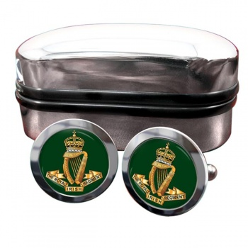 Royal Irish Regiment (1684 - 1922) Round Cufflinks