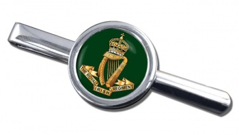 Royal Irish Regiment (1684 - 1922) Round Tie Clip