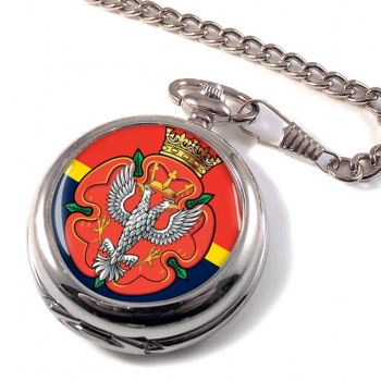 Royal Mercian and Lancastrian Yeomanry Pocket Watch