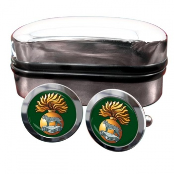 Royal Munster Fusiliers Round Cufflinks