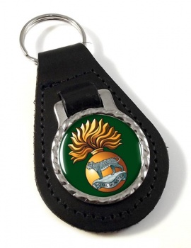 Royal Munster Fusiliers Leather Key Fob