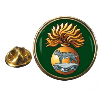 Royal Munster Fusiliers Round Pin Badge