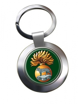Royal Munster Fusiliers Chrome Key Ring