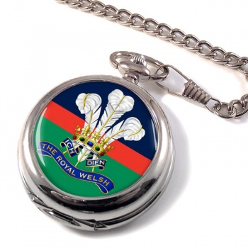 Royal Welsh Pocket Watch