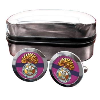Royal Welch Fusiliers  Round Cufflinks