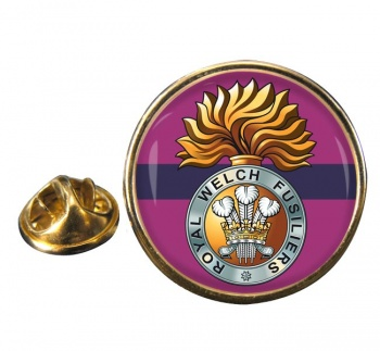Royal Welch Fusiliers  Round Pin Badge