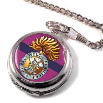Royal Welch Fusiliers  Pocket Watch