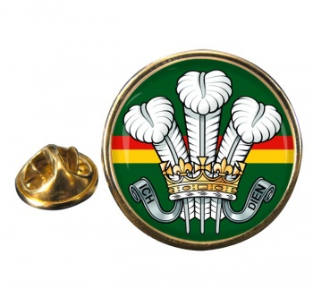 Royal Wiltshire Yeomanry Round Pin Badge