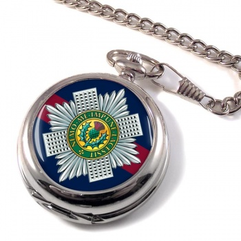 Scots Guards Pocket Watch