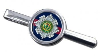 Scots Guards Round Tie Clip