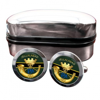 Somerset Light Infantry Round Cufflinks