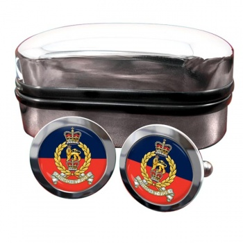 Staff and Personnel Support Branch Round Cufflinks