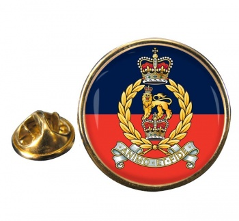 Staff and Personnel Support Branch Round Pin Badge