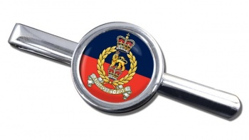 Staff and Personnel Support Branch Round Tie Clip