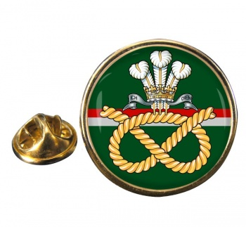 Staffordshire Regiment Round Pin Badge