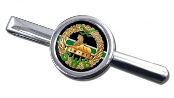 South Wales Borderers Round Tie Clip