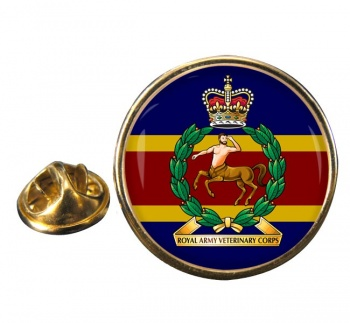 Royal Army Veterinary Corps Round Pin Badge