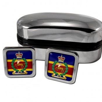 Royal Army Veterinary Corps Square Cufflinks