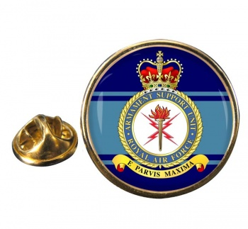 Armament Support Unit Round Pin Badge