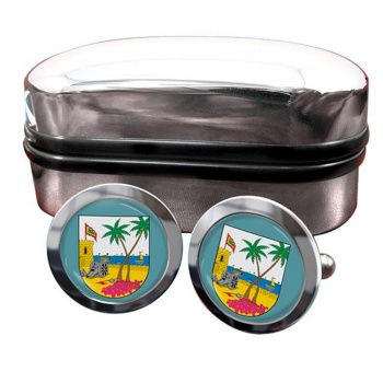 Atlantico (Colombia) Crest Cufflinks