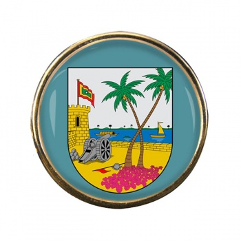 Atlantico (Colombia) Round Pin Badge